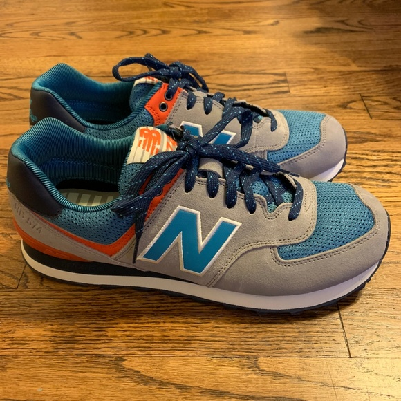 sale retailer 96331 02ea6 Mens New Balance 574 Out East Sneakers Shoes 10.5